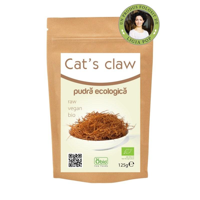Cat's claw (gheara matei) pulbere raw bio 125 g PROMO