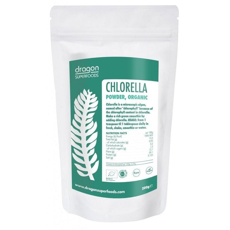 Chlorella pulbere organica 200g DS