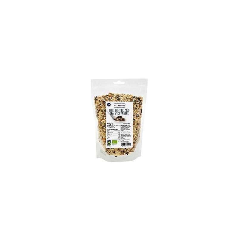 Alge marine cu orez si linte bio 500g