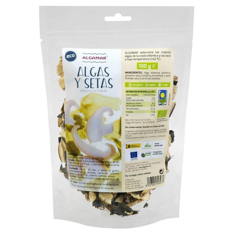 Alge marine cu ciuperci raw bio 100g