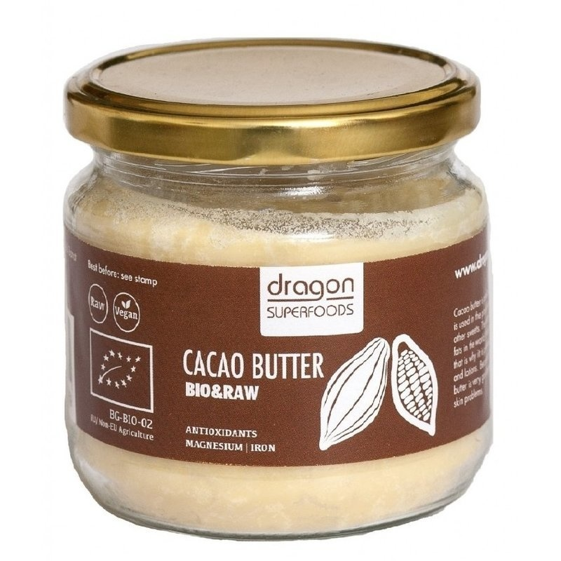 Unt de cacao raw bio 100g DS