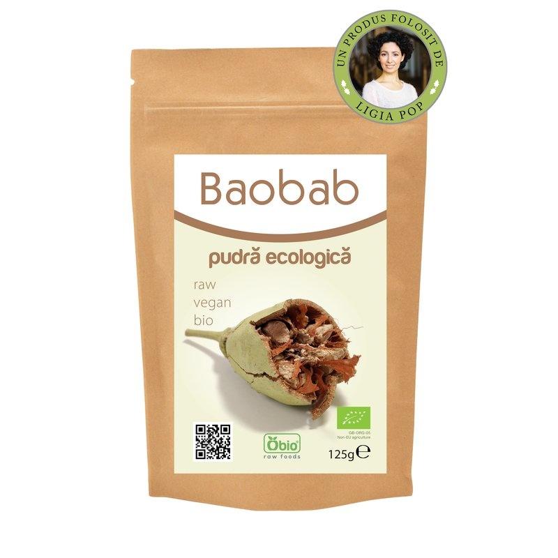 Baobab pulbere bio 125g PROMO