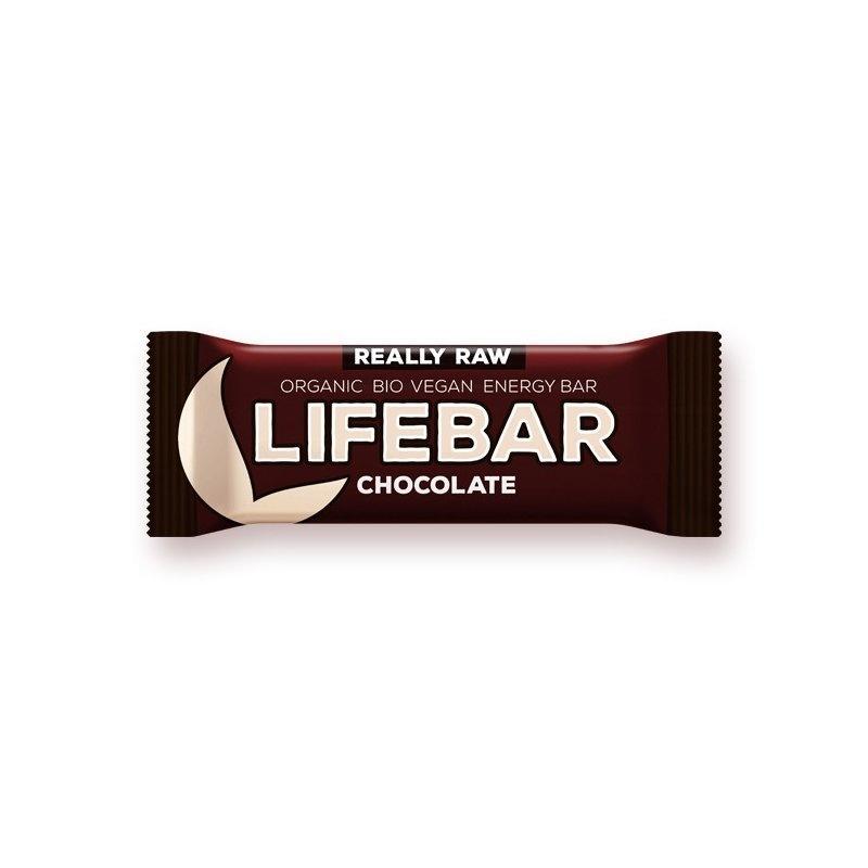 Lifebar baton cu ciocolata raw bio 47g