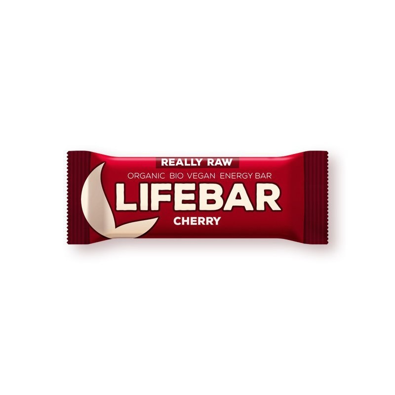 Lifebar baton cu cirese raw bio 47g