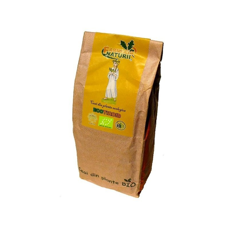Ceai de tiroida ECOTIROID bio 150g