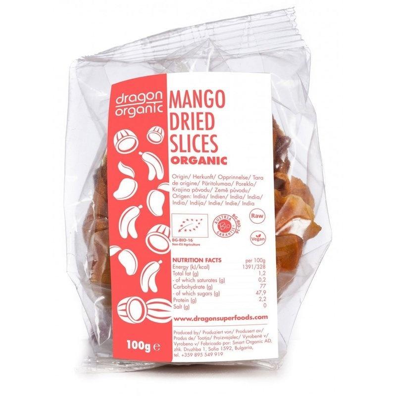 Mango deshidratat felii bio 100g DS