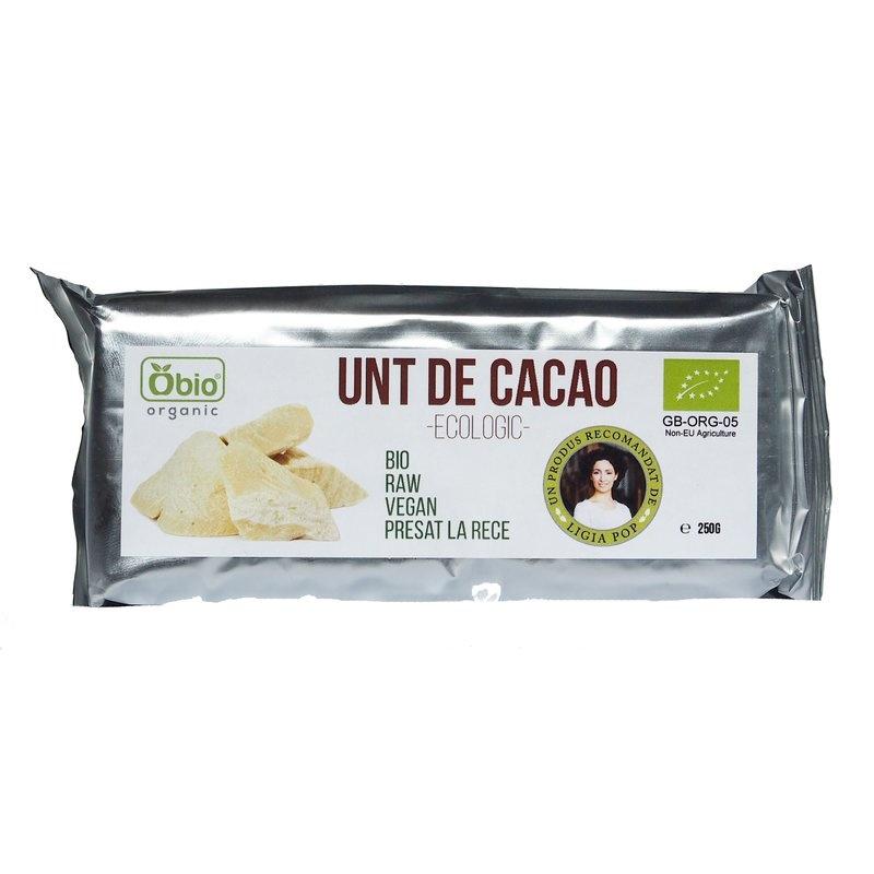 Unt de cacao raw bio 250g