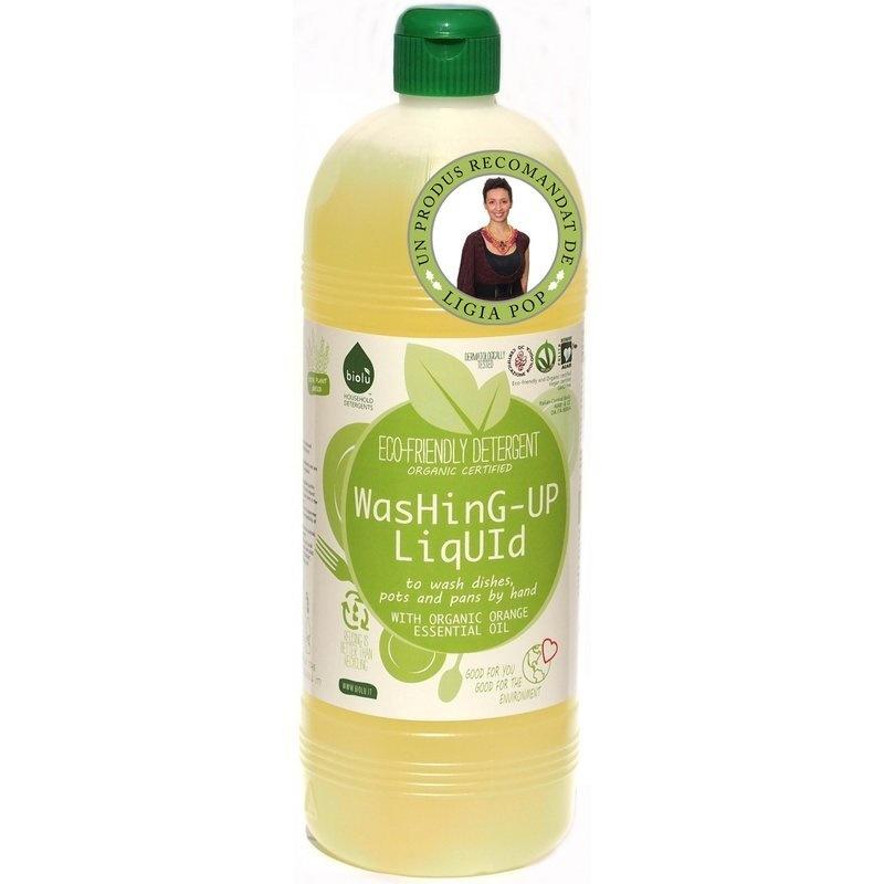 Detergent ecologic pentru spalat vase 1L Biolu