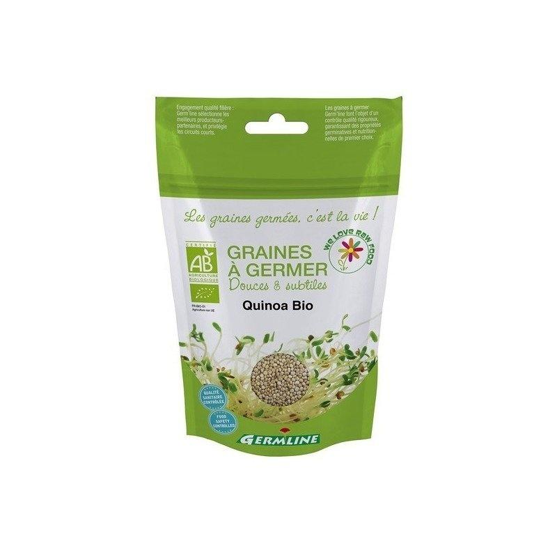 Quinoa alba pt. germinat bio 200g Germline