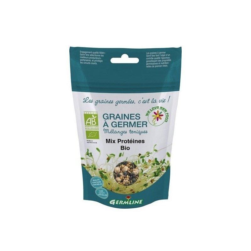 Mix proteic pt. germinat bio 200g Germline