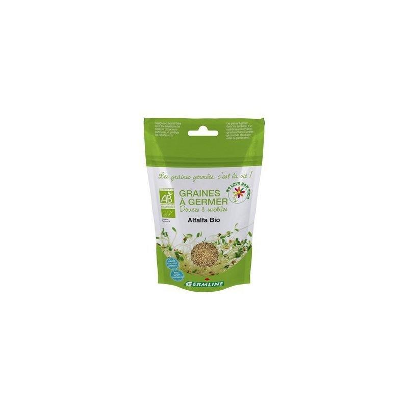 Alfalfa seminte pentru germinat bio 150g
