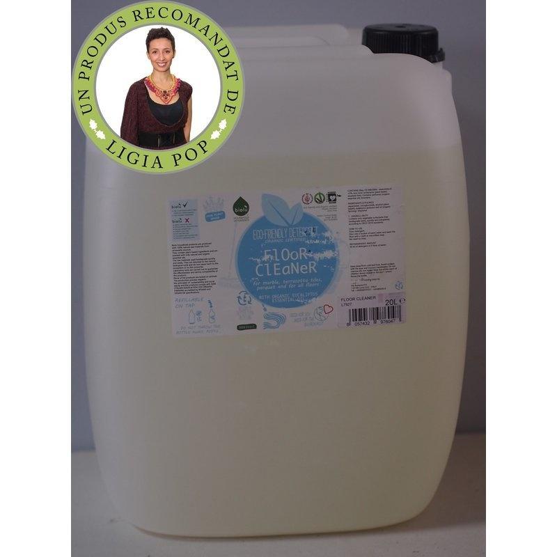Detergent ecologic vrac pentru pardoseli 20L Biolu