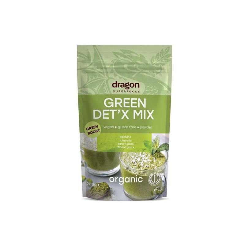 Green Detox Mix raw bio 200g DS