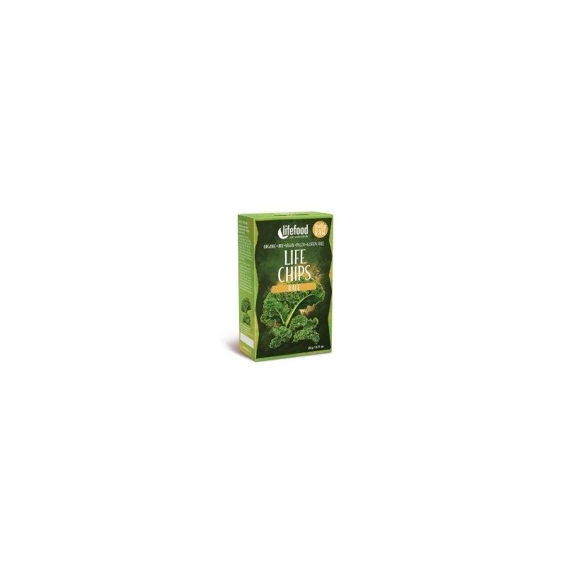 Life Chips din kale raw bio 20g Lifefood