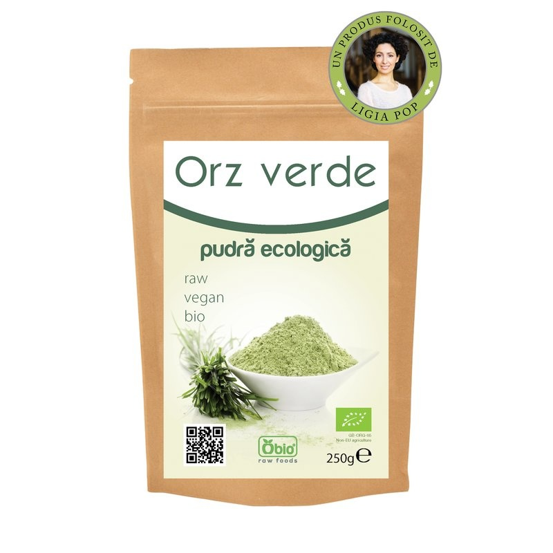 Orz verde pulbere bio 250g