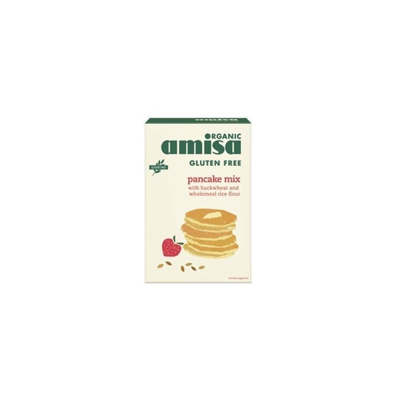 Mix pentru clatite fara gluten bio 2x180g (total 360g)