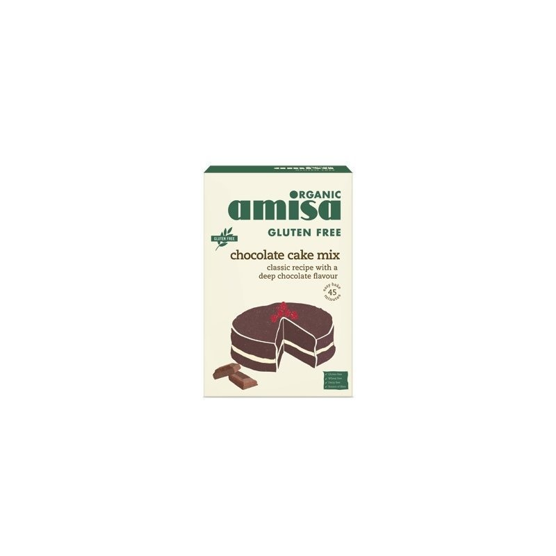 Mix pentru prajitura cu ciocolata fara gluten bio 400g