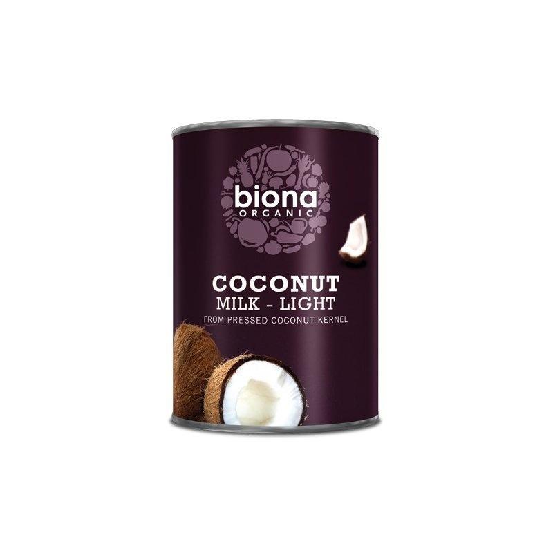 Lapte de cocos light bio 400ml Biona