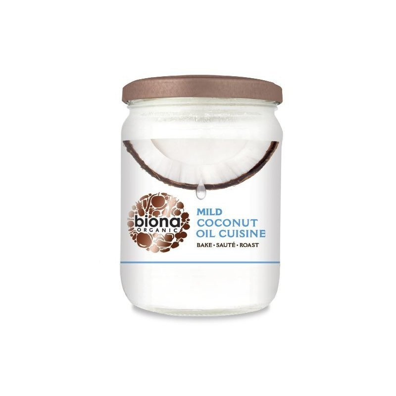 Ulei de cocos dezodorizat pt. gatit bio 470g