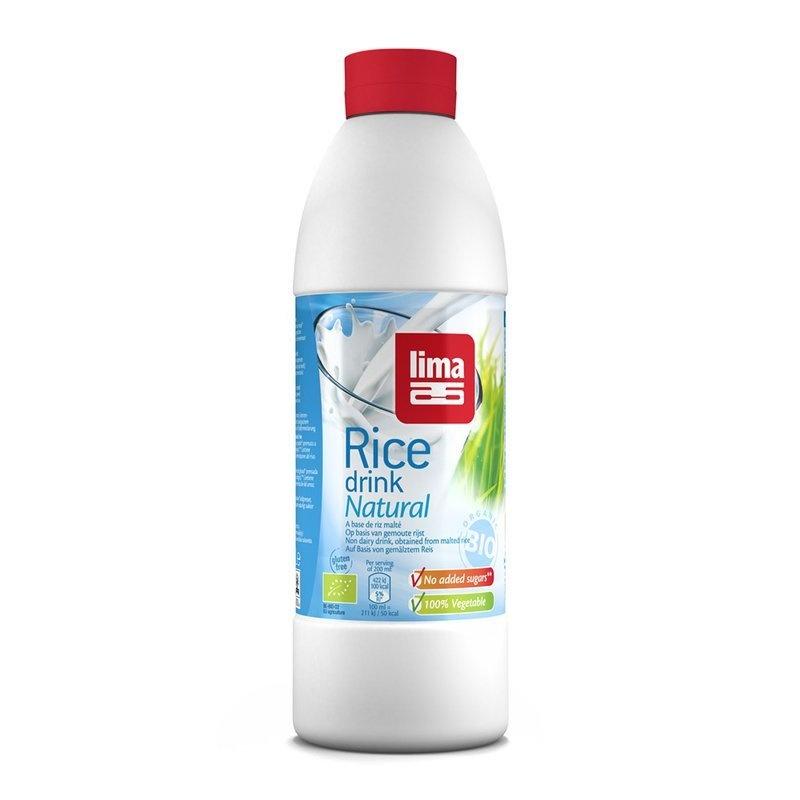 Lapte de orez Natural bio 1L Lima
