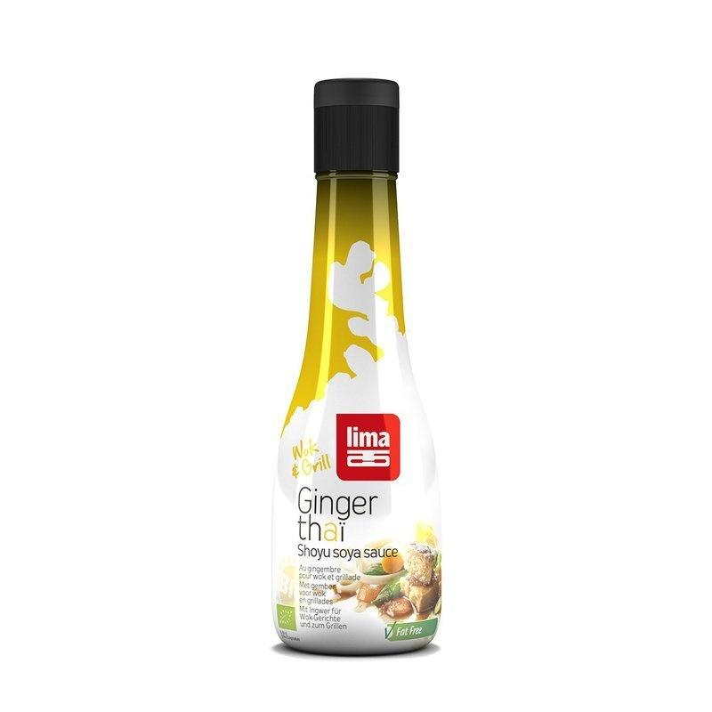 Sos de soia Shoyu Ginger Thai bio 200ml