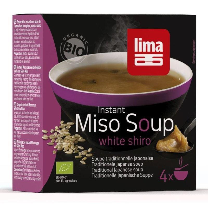 Supa Shiro Miso instant bio 4x15g Lima