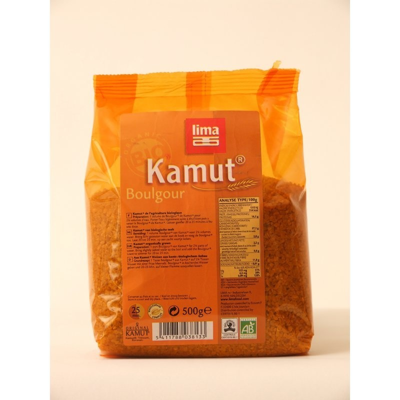 Kamut® bulgur bio 500g Lima
