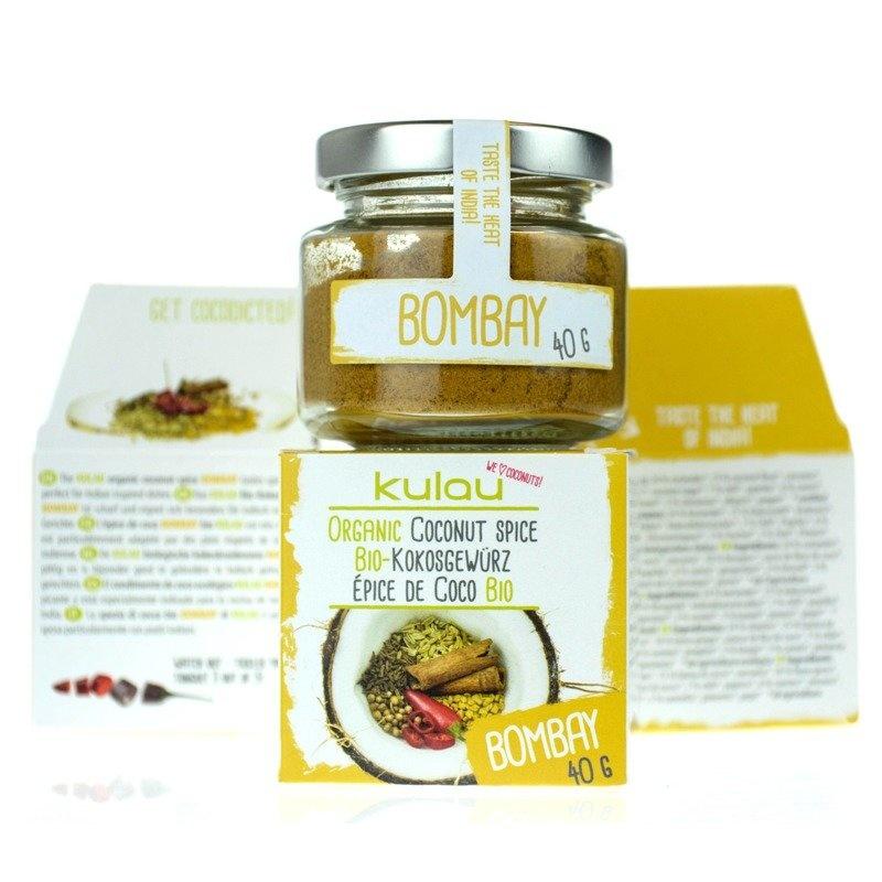 Condiment BOMBAY cu cocos bio 40g
