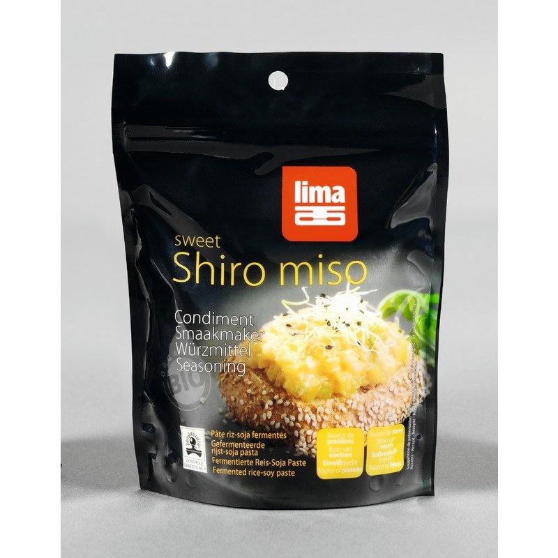 Pasta de soia Shiro Miso bio 300g Lima