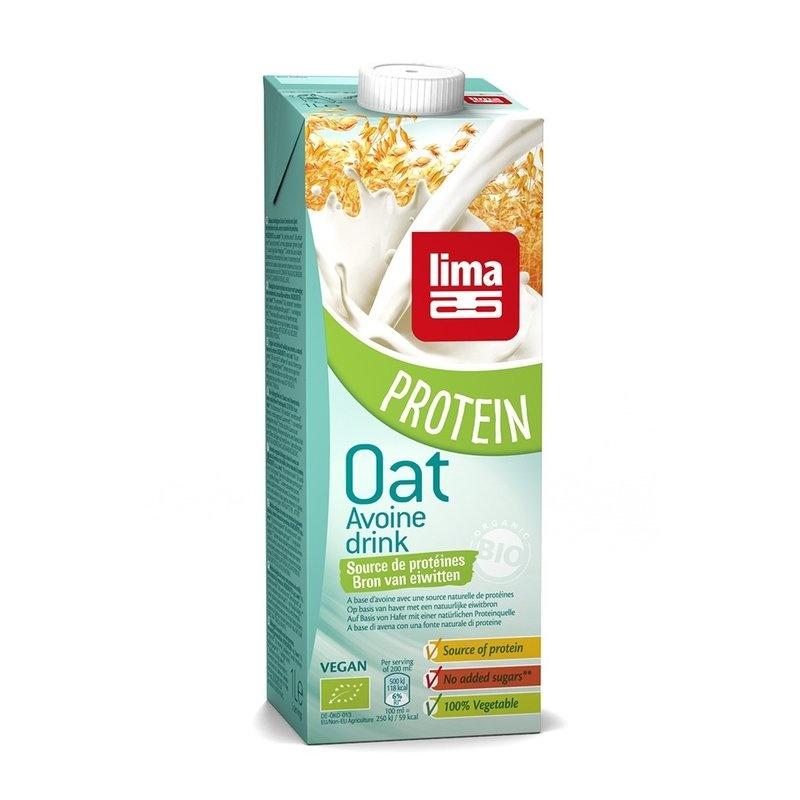Lapte de ovaz cu proteine bio 1L LIMA