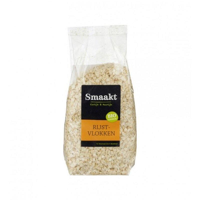 Fulgi de orez bio 500g SMAAKT