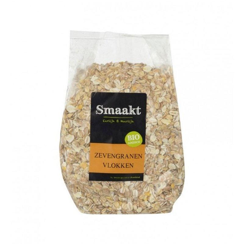 Fulgi din 7 cereale bio 500g SMAAKT