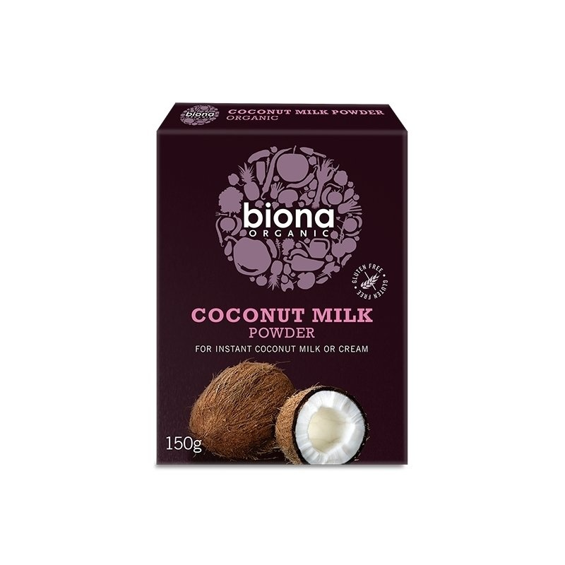 Lapte de cocos praf bio 150g Biona