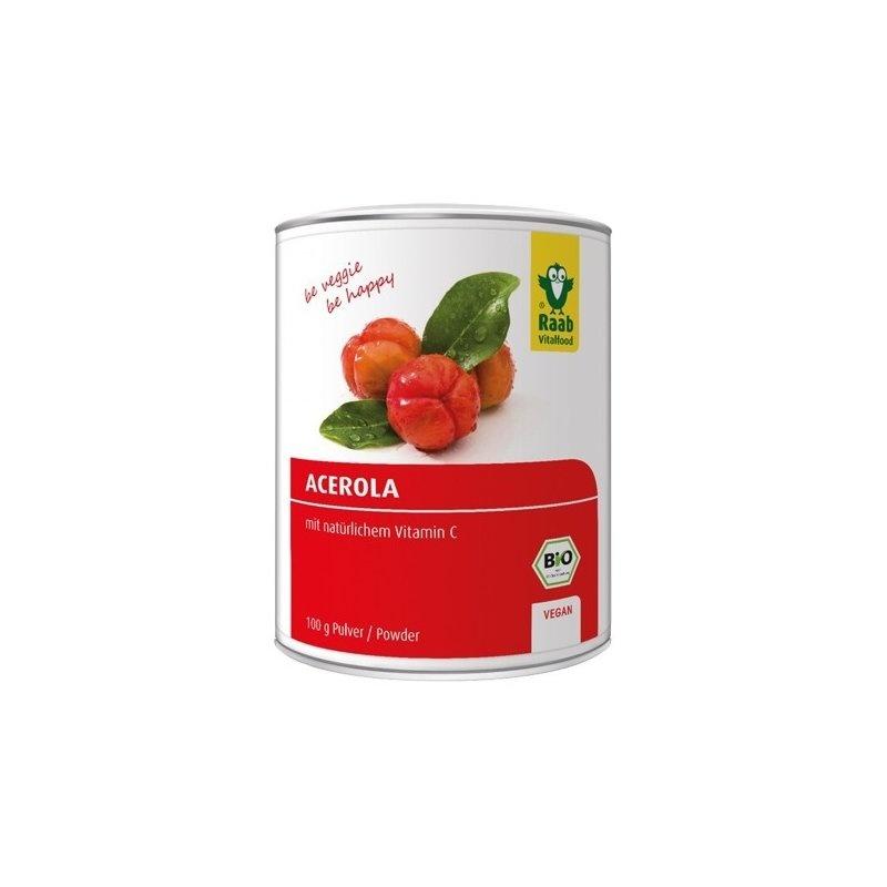 Acerola pulbere bio 100g Raab