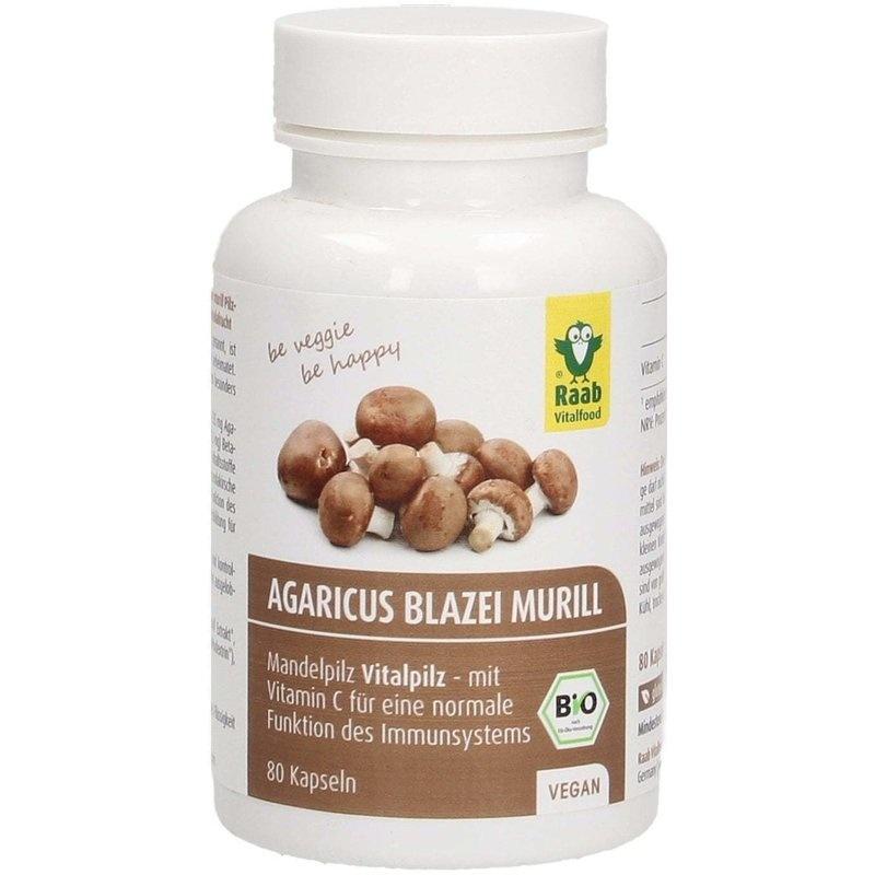 Agaricus Blazei Murill 80 capsule bio RAAB