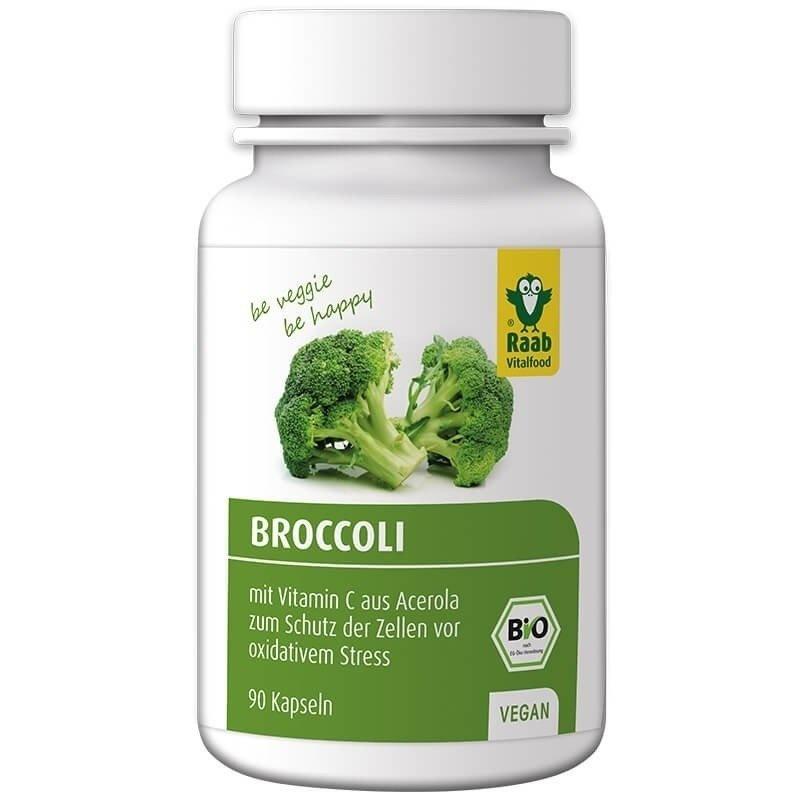 Broccoli bio 500mg, 90 capsule vegane RAAB