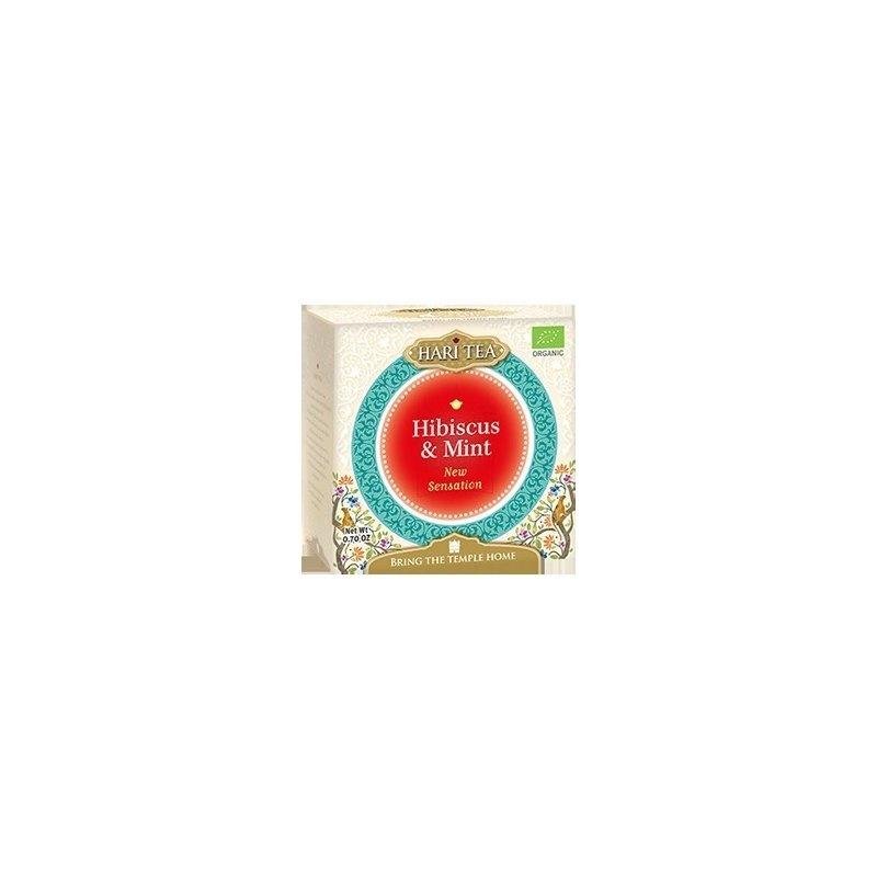 Ceai premium Hari Tea - New Sensation - hibiscus si menta bio 10dz