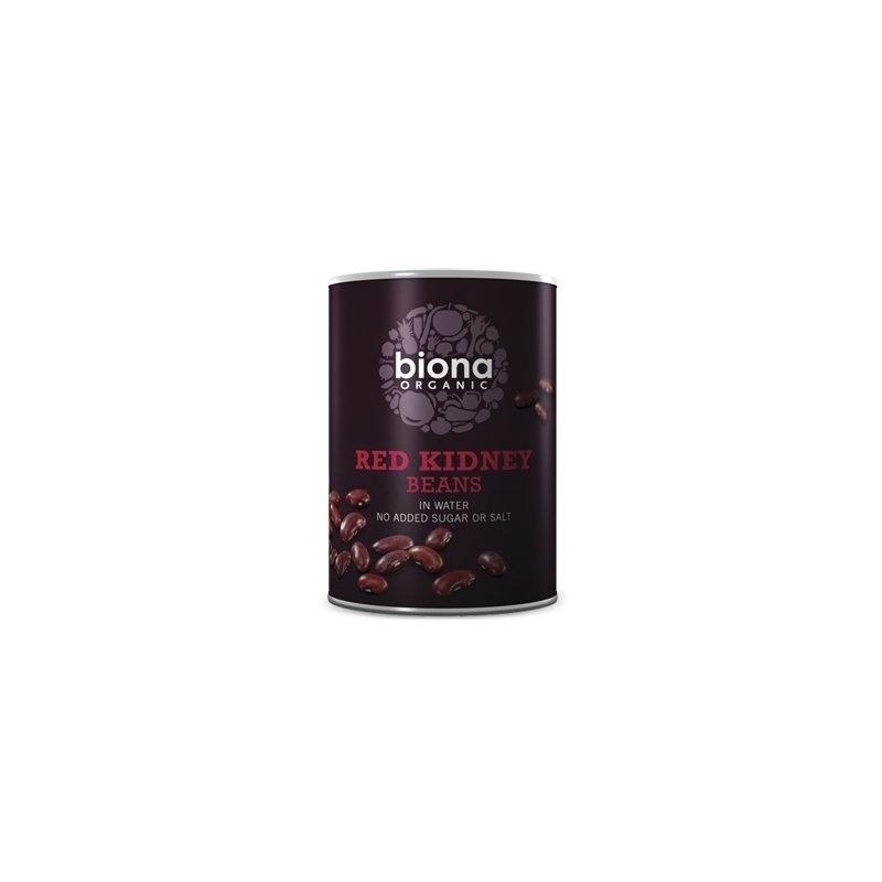 Fasole rosie Red Kidney boabe conserva bio 400g Biona
