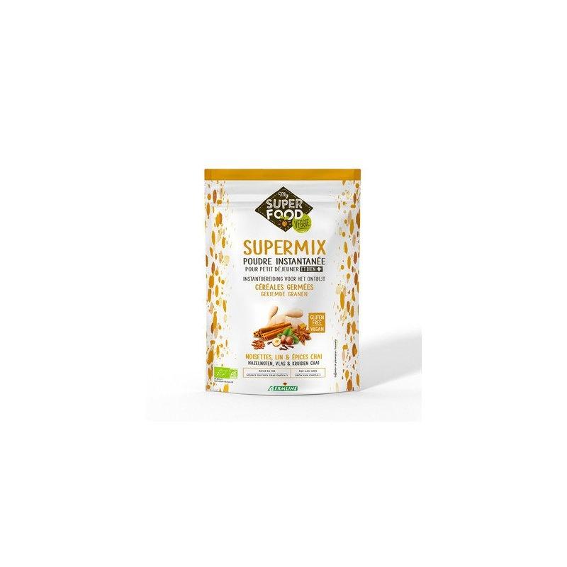 Supermix pentru micul dejun cu alune de padure - chai bio 350g, fara gluten