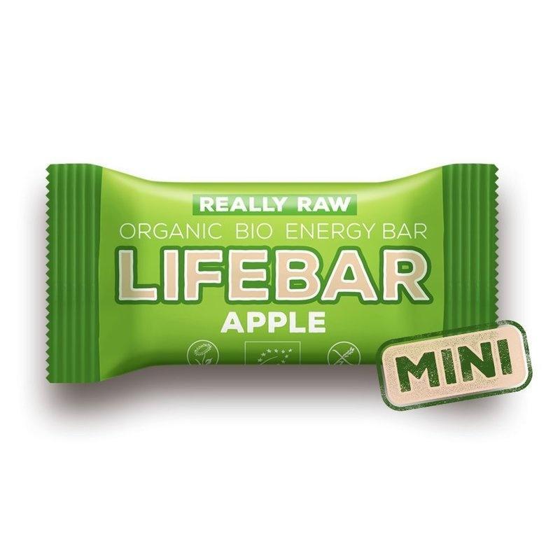 MINI-Lifebar baton cu mere raw bio 25g PROMO