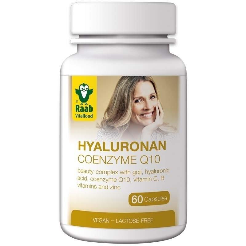 Hyaluronan - Coenzyme Q10 Beauty Complex 60 capsule vegane