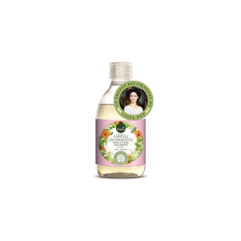Sampon ecologic cu ulei de masline si vitamina E 300ml Biolu