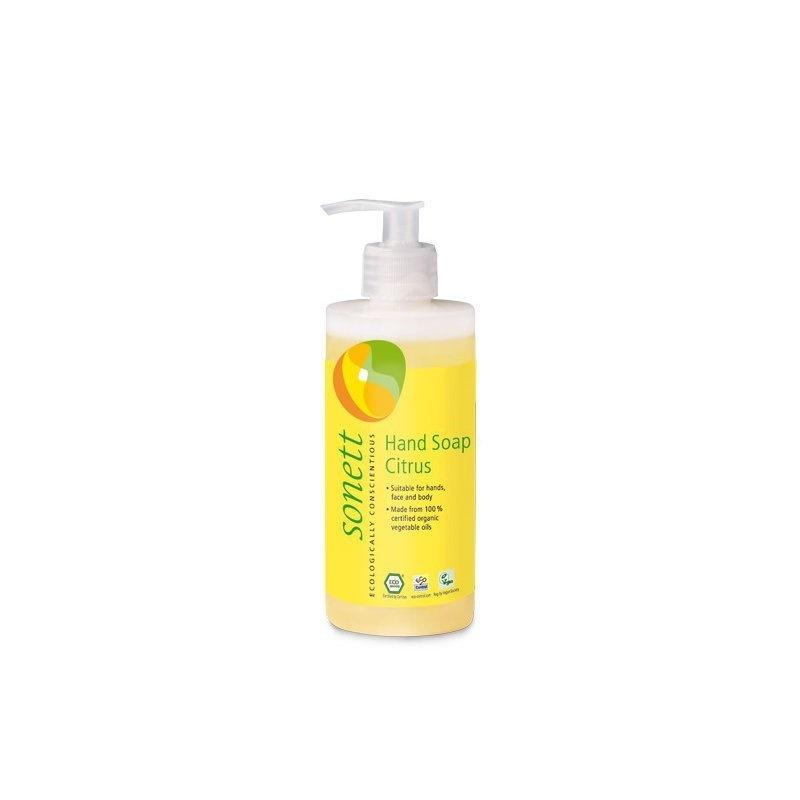 Sapun lichid - gel de dus ecologic Lamaie 300ml, Sonett