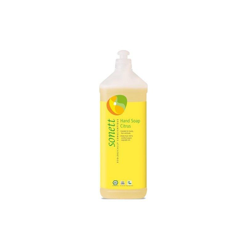 Sapun lichid - gel de dus ecologic Lamaie 1L, Sonett
