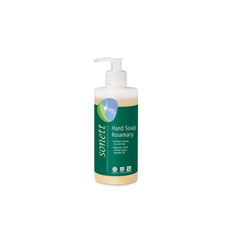 Sapun lichid - gel de dus ecologic Rozmarin 300ml, Sonett