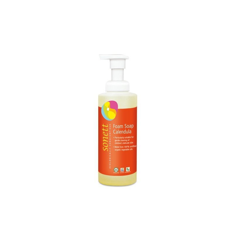 Sapun lichid - gel de dus ecologic spumant cu galbenele pt. copii 200ml, Sonett