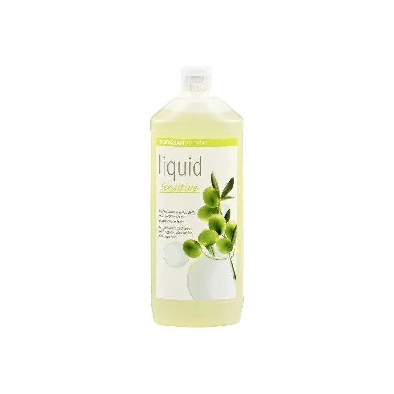 Sapun Lichid/Gel De Dus Bio Neutru Sensitiv 1 L Sodasan
