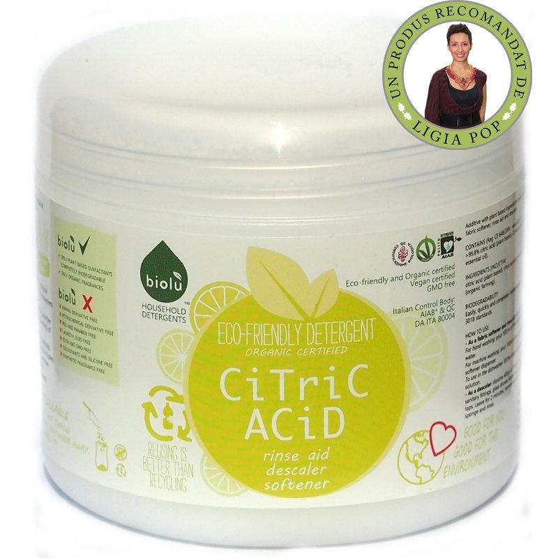 Acid citric ecologic pentru rufe 1kg