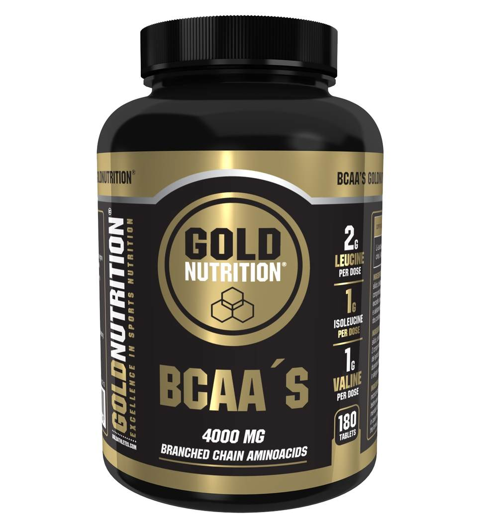 GOLDNUTRITION BCAA'S 180 TB