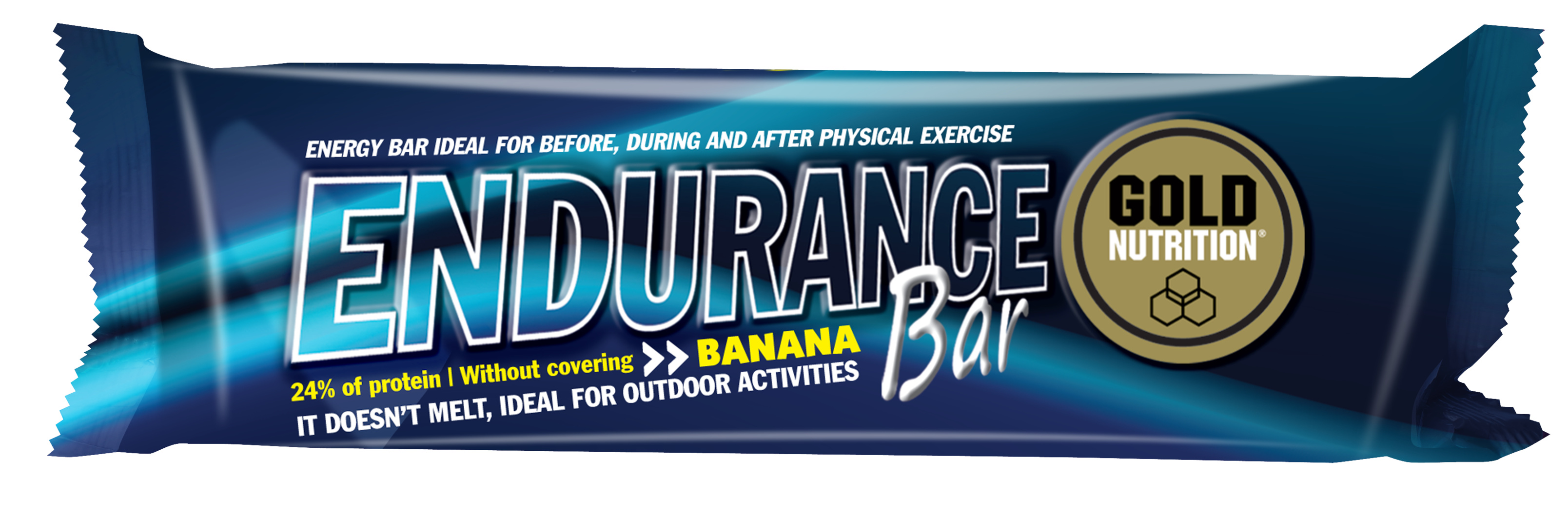 GOLDNUTRITION ENDURANCE BAR BANANE 60G